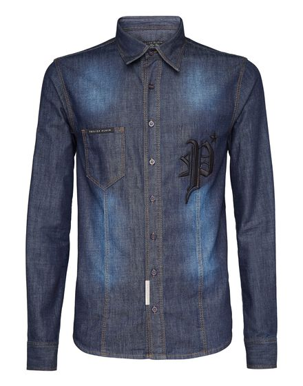Denim Shirt Ls Gothic P