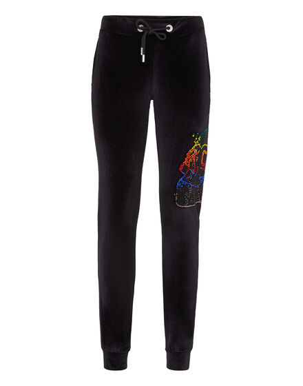 Jogging Trousers Look at me Skull strass