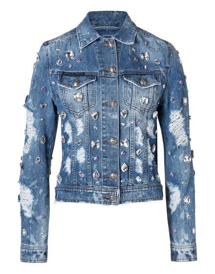 Denim Jacket Happy Blue