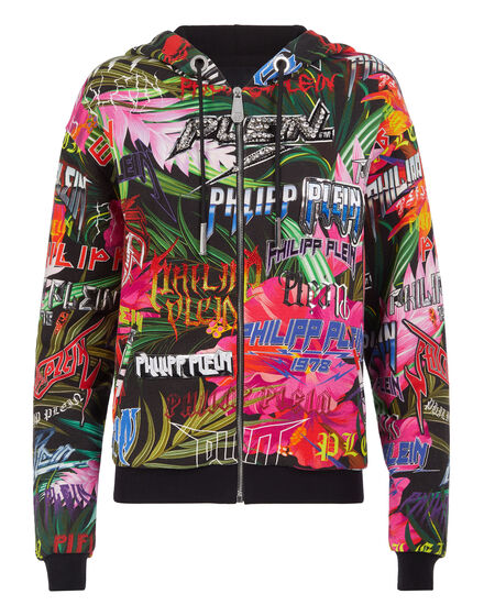 Hoodie Sweatjacket Jungle Rock