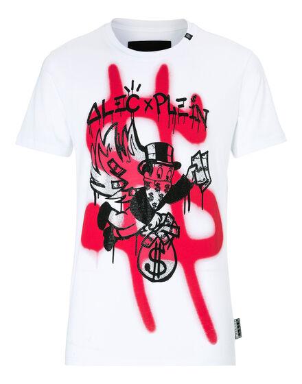 T-shirt Round Neck SS Monopoli Money