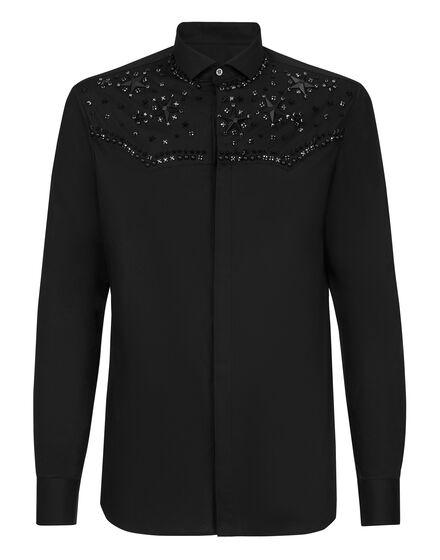 Shirt Platinum Cut LS Cowboy