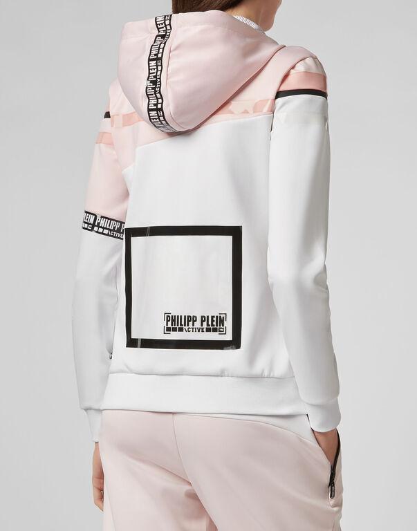 Hoodie Sweatjacket  Stripes