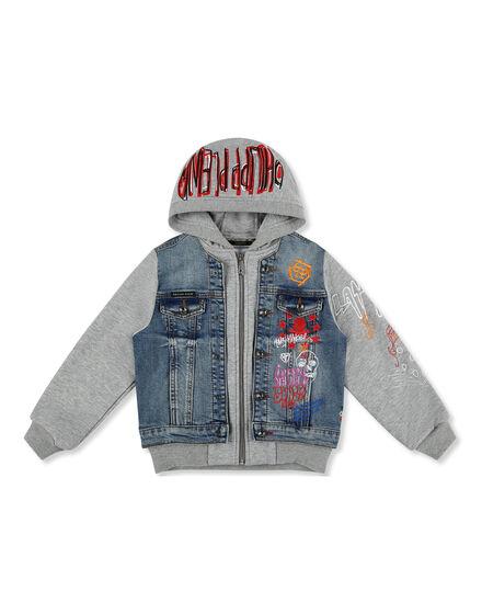 Denim Jacket Graffiti