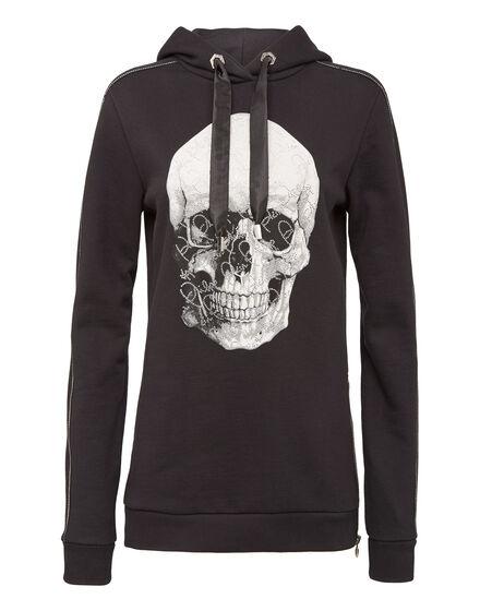 Hoodie sweatshirt  Super Skull