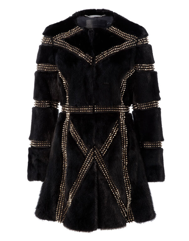 "fur coat ""the cagebird"""