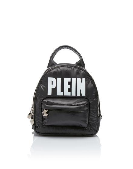Backpack Nylon Plein