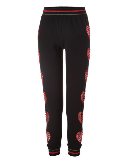 Knit Jogging Trousers Dolphin