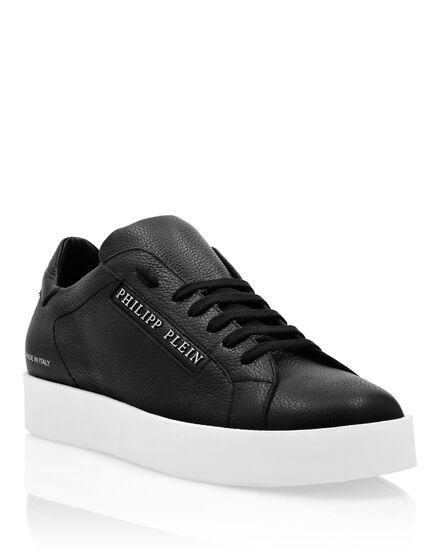 Leather Lo-Top Sneakers Philipp Plein TM