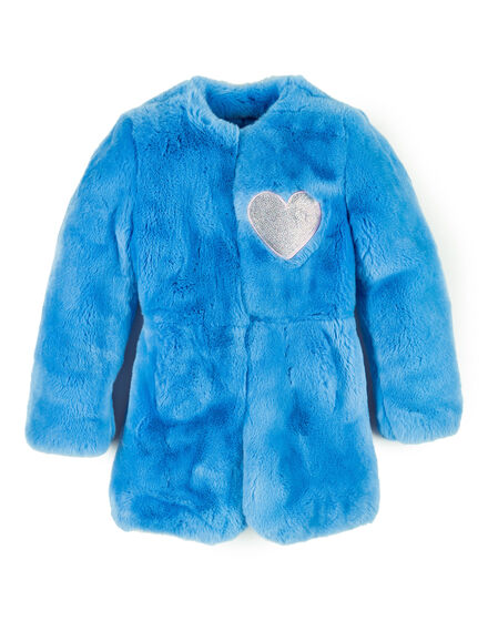 Fur Jacket Bright Puff