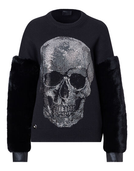 Pullover Round Neck LS Kiss Giant