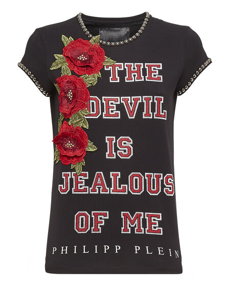T-shirt Round Neck SS Devil is jealous