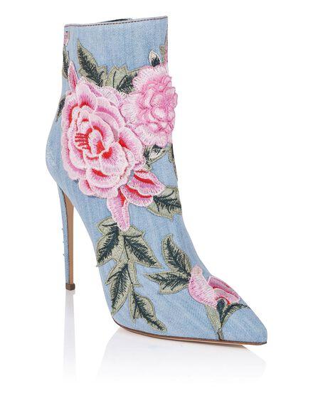 bootie high heels Janice