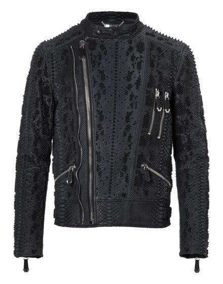 Leather Moto Jacket Way