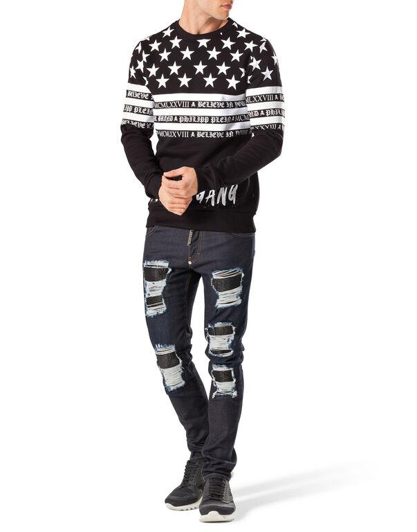 "sweatshirt ""american gang"""
