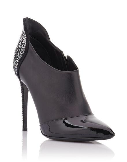 bootie high heels Light on me