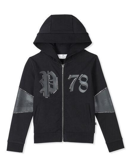 Hoodie Sweatjacket Dark Shadow