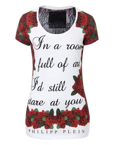 T-shirt Round Neck SS Art