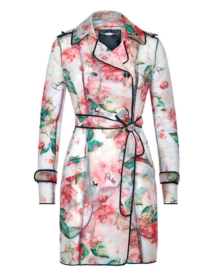 Trench coat Pink paradise