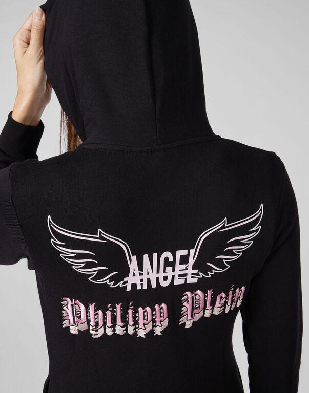 Hoodie Sweatjacket LS Angel