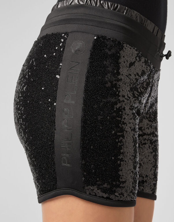 Jogging Shorts XYZ Paillettes