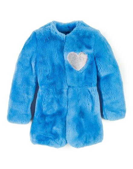 Fur Jacket Bright Puff