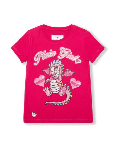 T-shirt Round Neck SS Dragon