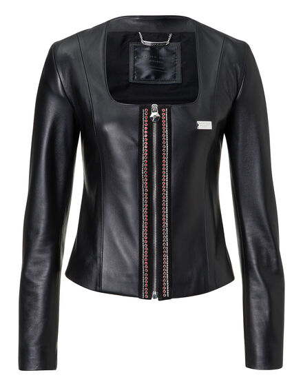 Leather Jacket Sacre Coeur