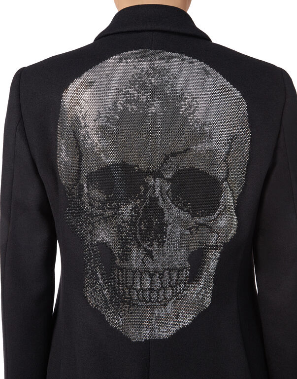 "Coat Long ""Biggest Skull"""