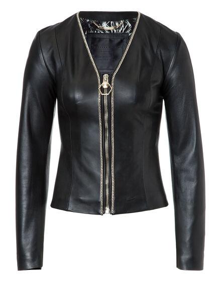 Leather Bolero Shanna