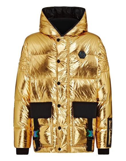 Nylon Jacket Gold