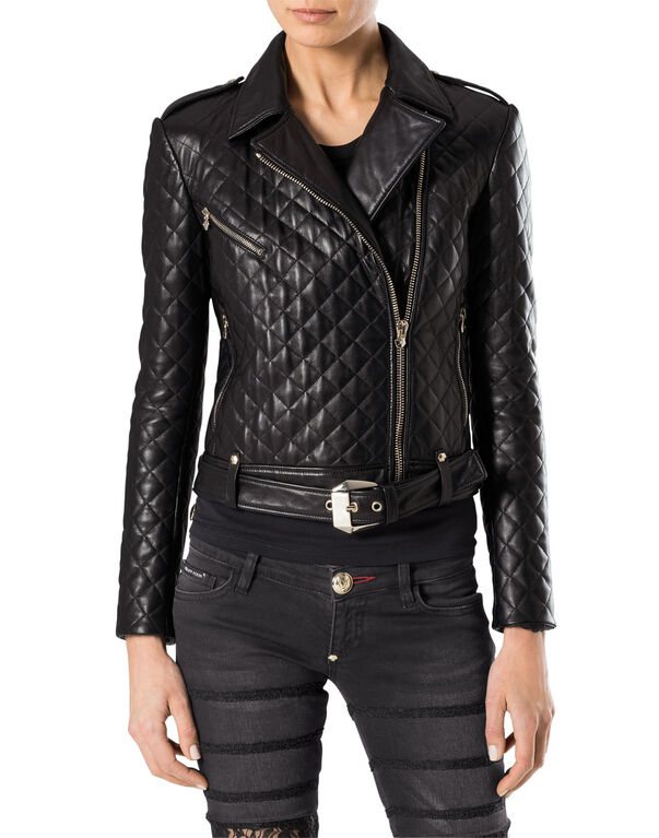 "leather jacket ""latch"""