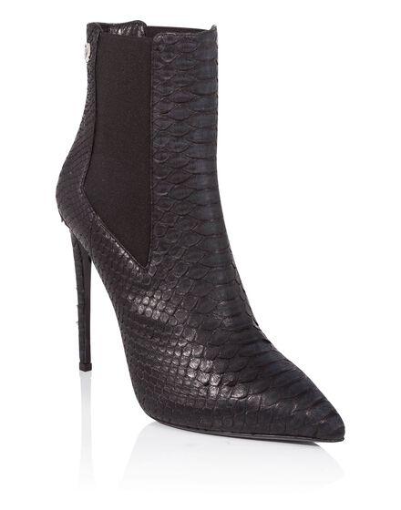 bootie high heels Elle