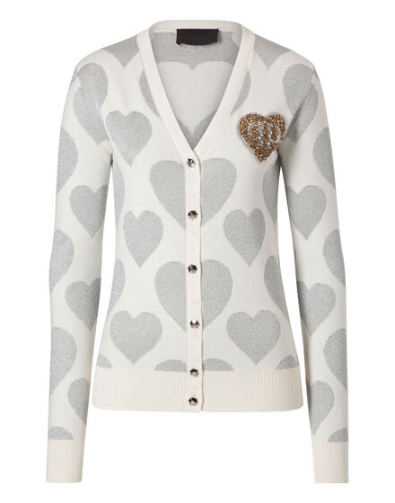 Cardigan Short Heart Rouge