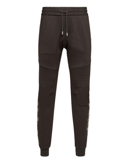 Jogging Trousers Crystal stripes