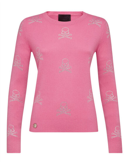 Pullover Round Neck LS Pink paradise