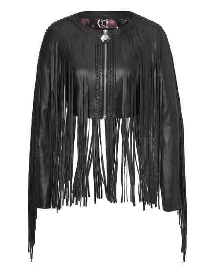 leather jacket apache