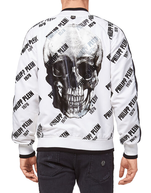 "Nylon Jacket ""PP78 and skull"""