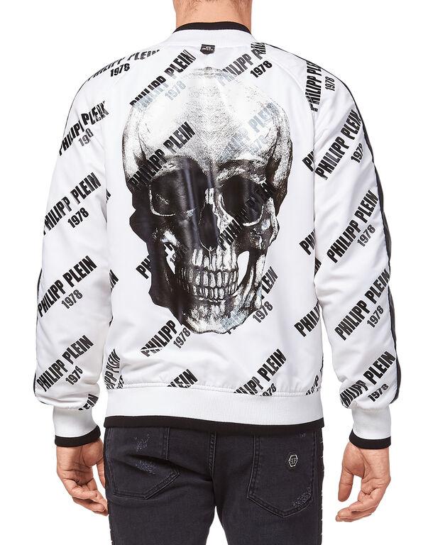 """Nylon Jacket """"PP78 and skull"""""""