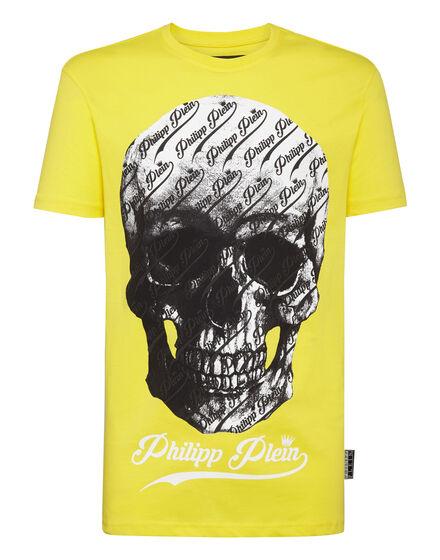 T-shirt Round Neck SS Allover skull