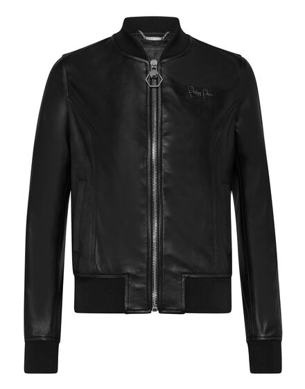 Leather Bomber Signature