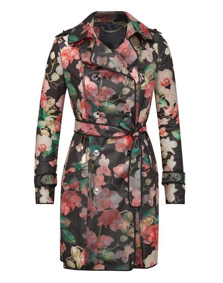 Trench coat Flowers
