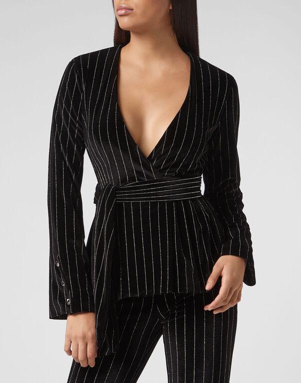 Blouse Stripes Elegant
