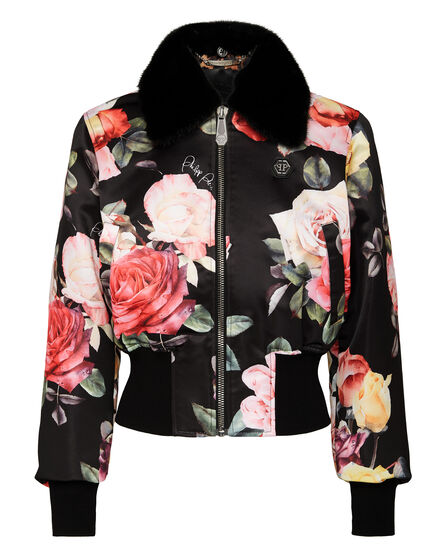 Bomber Painted Flowers