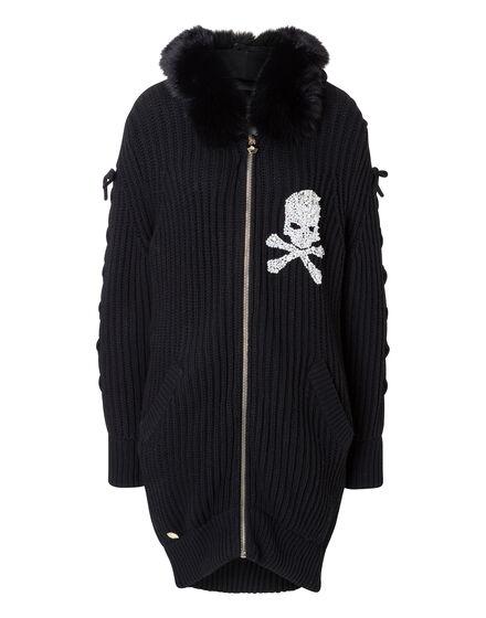Knit Jacket Kiss Snow