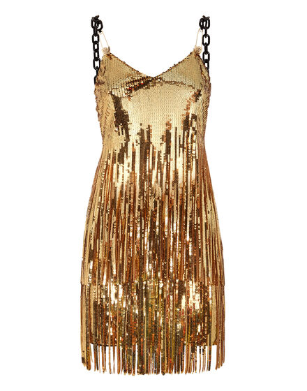 Short Dress Gold