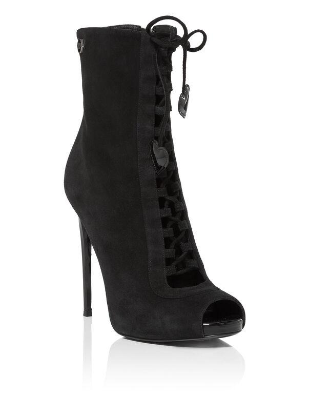 "Boots Lo-Heels High ""Ermes basic"""