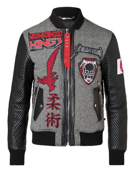 Leather Bomber Kenji