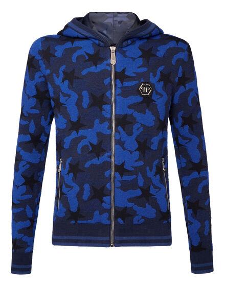 Knit Jacket Camou stars