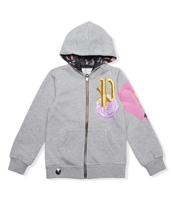 "Hoodie Sweatjacket ""Moonlight Dream"""